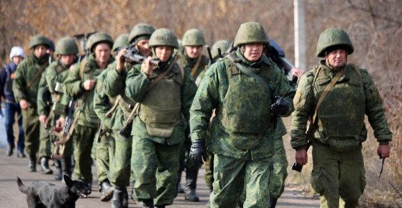Ukrainos prorusiški separatistai reiškia pretenzijas į Kijevo kontroliuojamas teritorijas