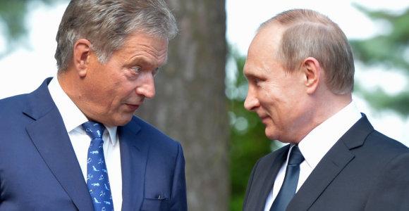 Rusijos prezidentas Vladimiras Putinas kitą savaitę lankysis Suomijoje