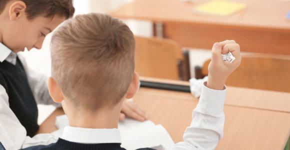 Mokyklos Pilaitėje pirmokų tėvai įbauginti: specialių poreikių turintis vaikas svaidosi kėdėmis