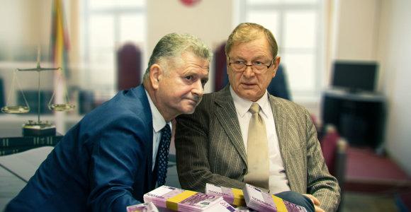 Teisėjų byla: V.Bavėjanas korupcija kaltinamam kauniečiui žadėjo padėti papirkti kitus teisėjus?