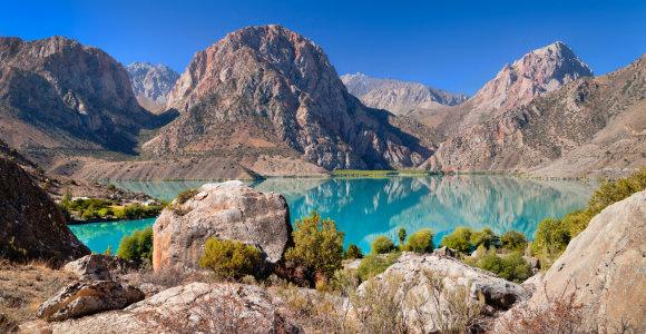 Šilko kelio vingiais per Vidurinę Aziją: Kazachstanas, Kirgizija, Tadžikija ir Uzbekija