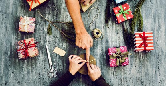 Kaip kalėdinių dovanų pirkimą paversti malonumu?