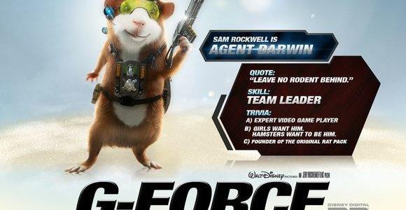 Filmas: G būrys | G-Force