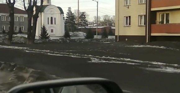 Sibirą užklojo juodas sniegas: nuodijami žmonės