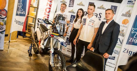 "Arūno Gelažninko komandos ""Zigmas Dakar Team"" pristatymas"