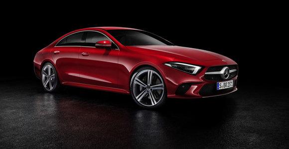 """Naujas """"Mercedes-Benz CLS"""" jau pristatytas, bet pačiupinėti pavyks tik kitąmet"""