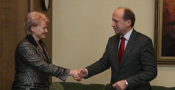 D. Grybauskaitė ir A. Kubiliaus Vyriausybė
