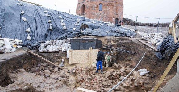Baigti archeologiniai tyrimai Gedimino kalne, S.Išoros palaikų nepavyko aptikti