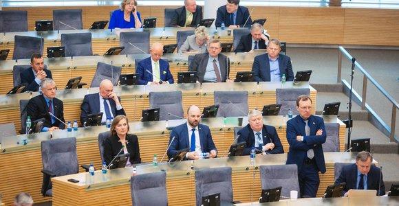 Etikos ir procedūrų komisija pritaria, kad parlamentarai vėl nuomotųsi automobilius