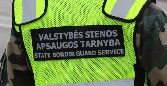 Į namus po darbų važiavę pasieniečiai pakeliui Vilniuje sulaikė girtą vairuotoją