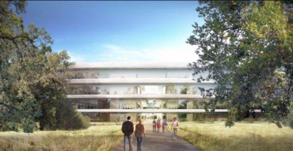 """""""Apple"""" planai: statys dar vieną būstinę, sukurs 20 tūkst. darbo vietų"""