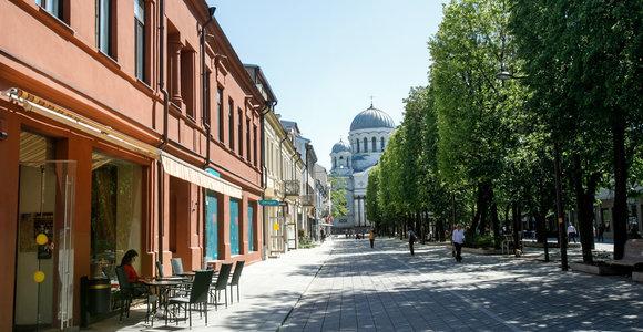 Darbus Laisvės alėjoje Kaune stabdo archeologiniai tyrimai