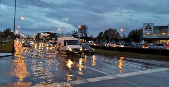 Klaipėdos centre galėtų atsirasti vandens lygio liniuotė