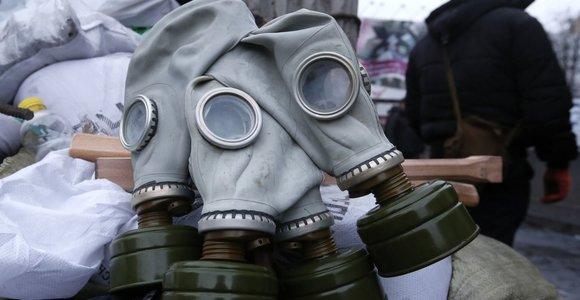Iš valstybės rezervo į Alytų keliauja 250 vienetų dujokaukių su filtrais