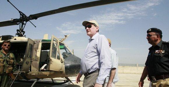 JAV diplomatijos veteranas Richardas Holbrooke'as