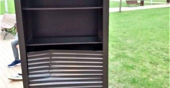 Chuliganai išniekino Tauragės bibliotekos pastangas būti arčiau skaitytojų