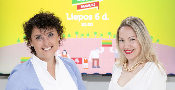 15min studjoje – Laura Dzelzyte Scarborough ir Ieva Davydenko