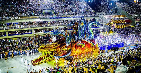 Rio de Žaneiras dėl COVID-19 atidėjo garsųjį karnavalą