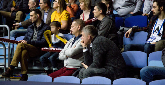 """Vladimiras Romanovas stebėjo rungtynes tarp """"Chimki"""" ir """"Žalgirio"""" Maskvoje"""
