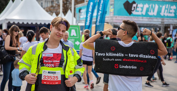 Vilniaus maratonas – vieta, kur įmonės demonstruoja savo kūrybiškumą