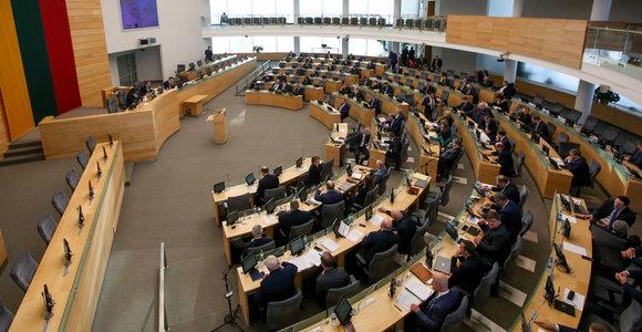 Merų postų savivaldybėse sieks 14 Seimo narių