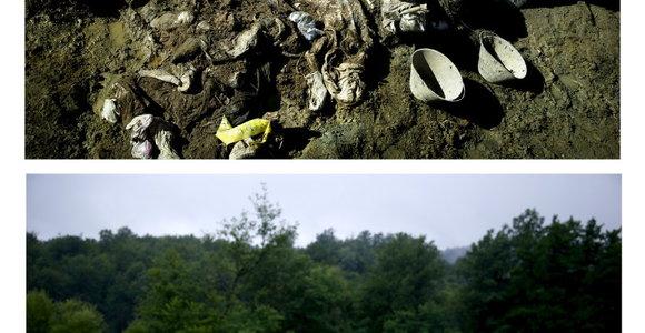Srebrenicos žudynių vieta po 20 metų – nuotraukos prieš ir po