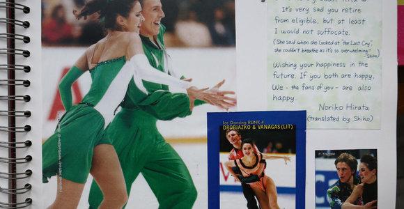 Lietuvos sportininkams – užsienio sirgalių dėmesys: kasdien sulaukiama laiškų dėl autografų