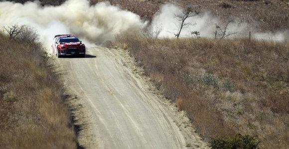S.Ogier triumfo Meksikos WRC etape akimirkos