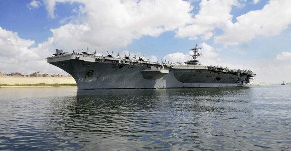Arabijos jūroje dingo amerikietis jūreivis
