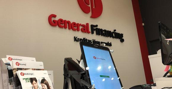 """General Financing"" tapo specializuotu banku"