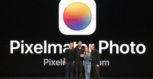 """Lietuvių programa """"Pixelmator Photo"""" laimėjo prestižinį """"Apple"""" apdovanojimą"""