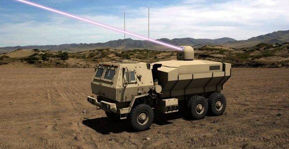 JAV kariuomenė ketina įsigyti galingiausią karinį lazerį pasaulyje