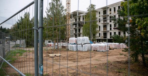 Šalyje lėtėja statybų tempai: išduodama mažiau leidimų