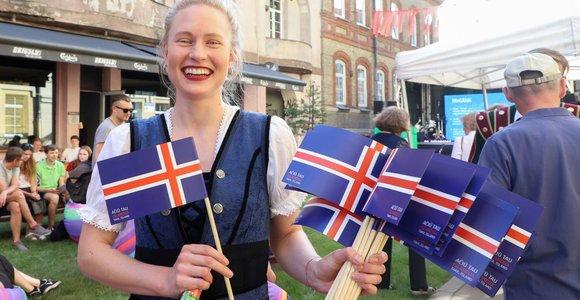 """Renginys """"Ačiū tau, Islandija"""""""