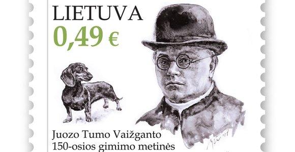 Išleidžiamas pašto ženklas atminti Juozui Tumui-Vaižgantui ir jo taksui