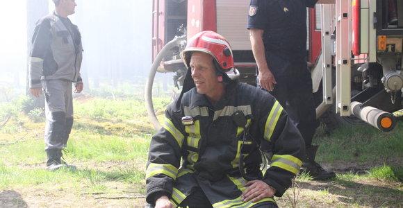 Miškų urėdija įsigijo automobilių gaisrams gesinti