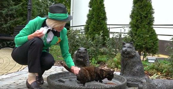 Miesto kačių globėja: tokį darbą pasirinko moteris iš Zelenogradsko
