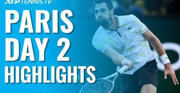 """Antrosios """"Masters"""" turnyro Paryžiuje dienos apžvalga"""