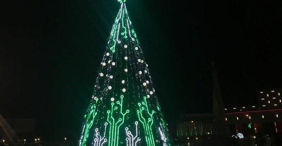 Marijampolės kalėdinės eglės įžiebimas