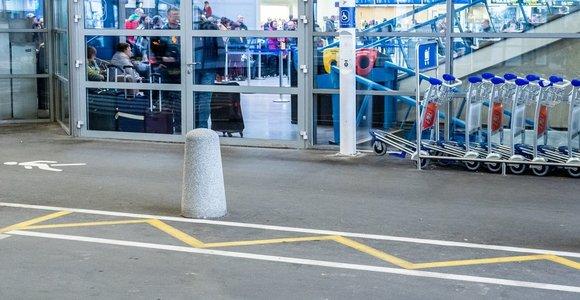 Lietuvos oro uostuose pagalba specialiųjų poreikių keleiviams suteikta dažniau