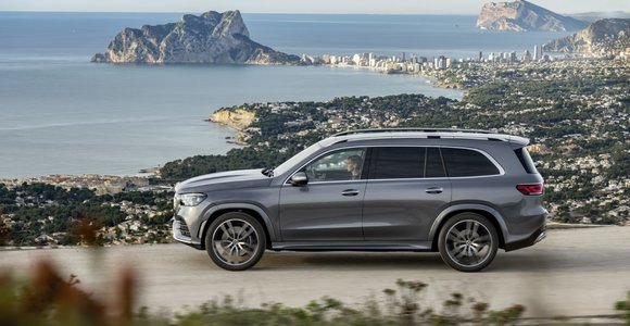 """Mercedes-Benz GLS"" pristatymas"