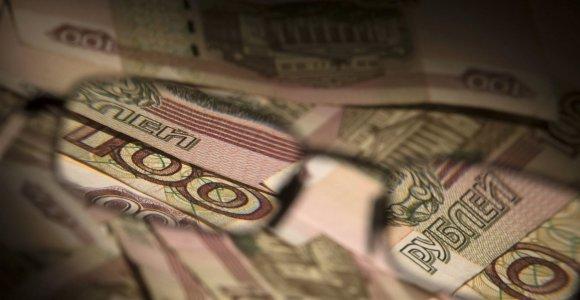 Privataus kapitalo grynosios išplaukos iš Rusijos šiemet sumenko šeštadaliu