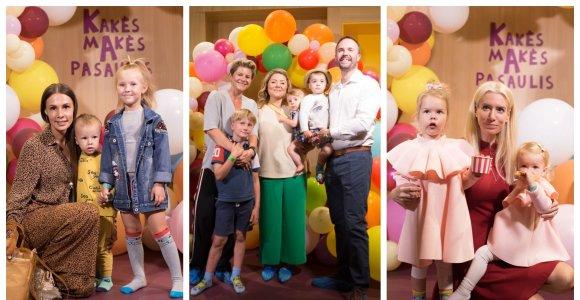 Vaikų pramogų erdvės atidaryme – garsūs tėvai su atžalomis: atvyko ir Beata Nicholson su visa šeima