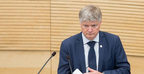 Klaipėdos konservatoriams talkins buvęs aplinkos ministras K.Navickas