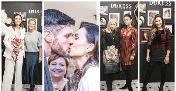 Tatjanos Lavrinovič salono atidaryme Vilniuje – garsūs svečiai ir unikaliai pristatyta brangi suknelė