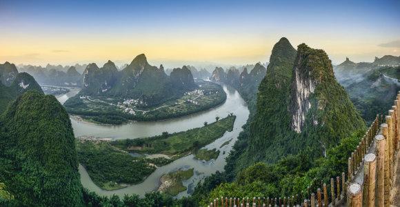 Magiški Kinijos kalnų peizažai: kraštovaizdžiai, įkvėpę ne vieną garsų menininką