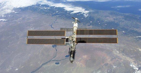 Iš Tarptautinės kosmoso stoties birželį sugrįš trys įgulos nariai