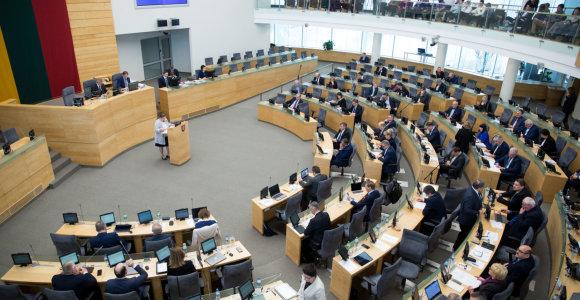 Pageidavimų šou: Seimo nariai siūlo kirpti nuo prezidentūros, Lietuvos banko ir ministerijų