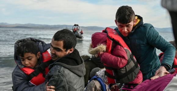 Šiaurės Kipras išgelbėjo pabėgėlius sirus, kurių neįsileido Nikosija