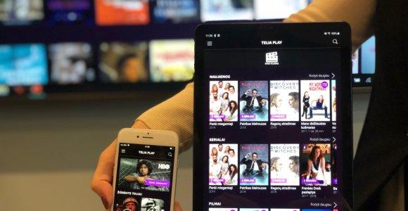"""""""Telia"""" ruošią tiesioginį atsaką """"Netflix"""": televizija bus visuose ekranuose"""